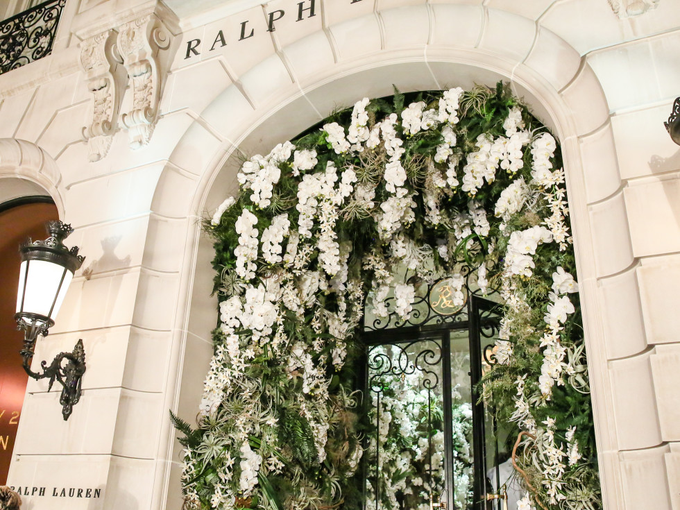 Ralph Lauren New York store exterior