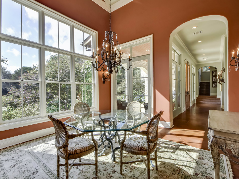 3904 Toro Canyon Rd Austin house for sale dining room