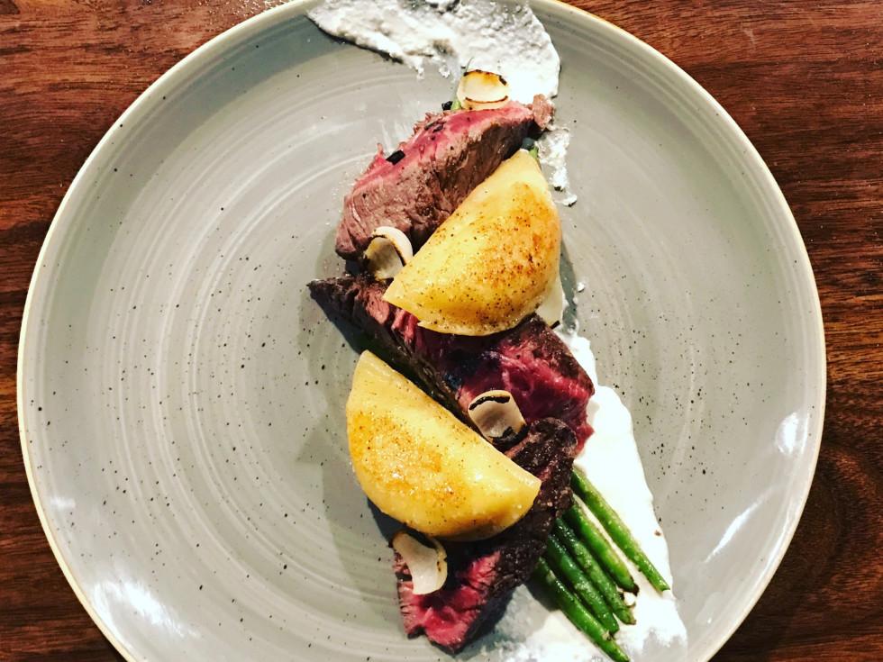 Riel restuarnat steak and pierogies