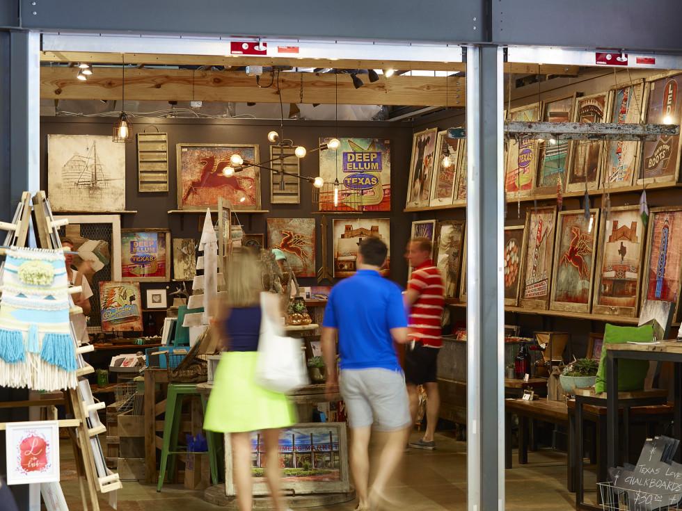 Lone Chimney Mercantile at Dallas Farmers Market