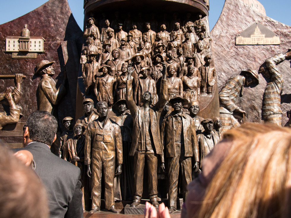 Texas African American History Memorial Unveiling Texas State Capitol November 2016