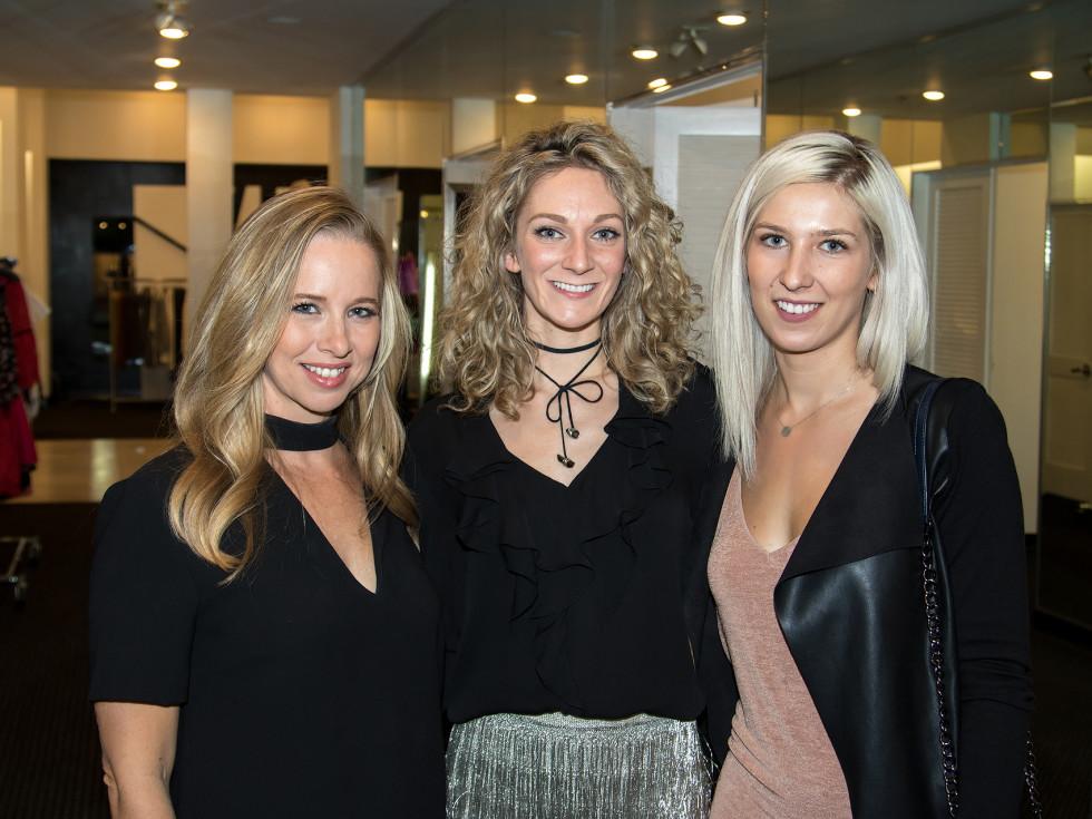 Holly Quartaro, Jenn Clark Hill, Paulina Pytlak