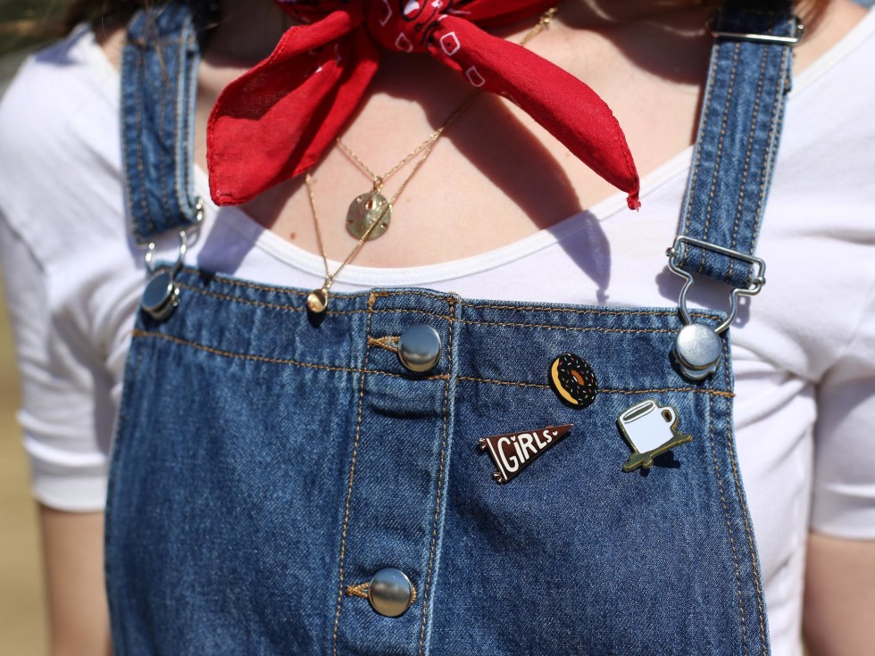 ACL Festival Weekend 2 Festival Style Peyton Perry pins
