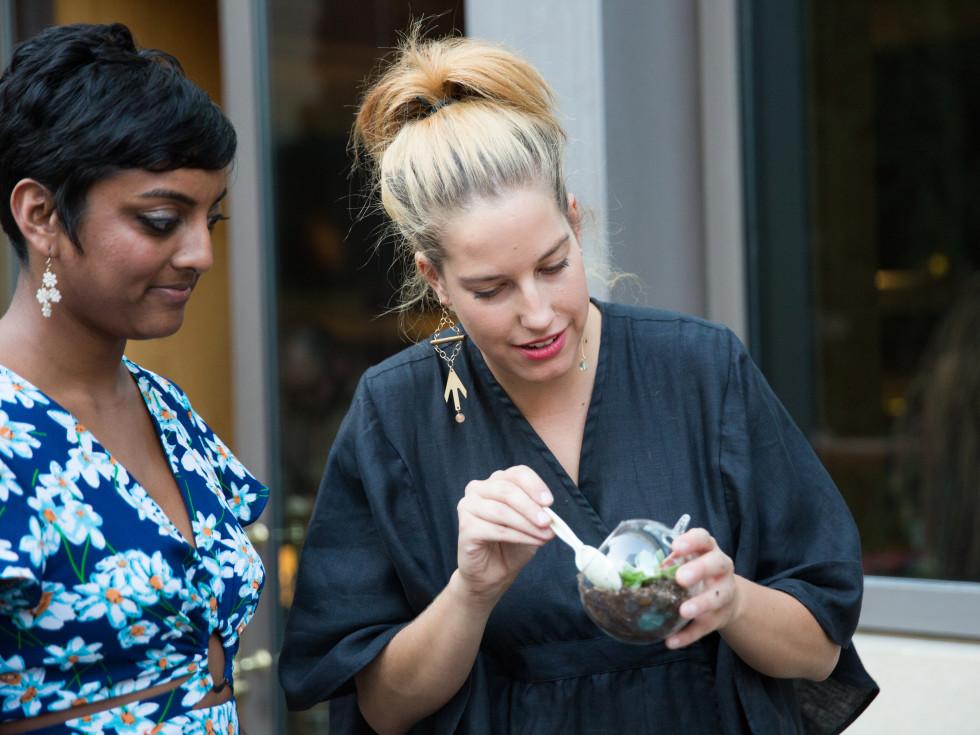 Jade & Clover succulent bar