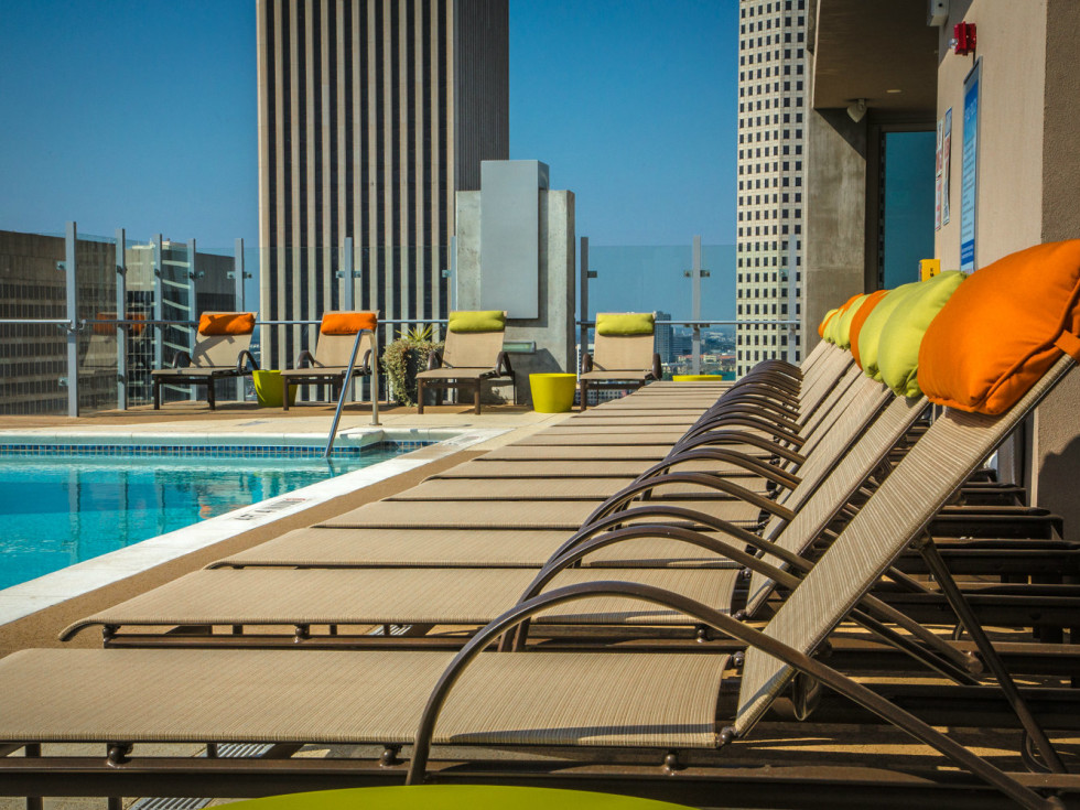 SkyHouse Houston pool
