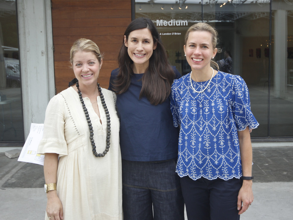 Texas Women for the Arts Meeting 2017 Annie Downing Diana Greenberg Jessica Karlsruher