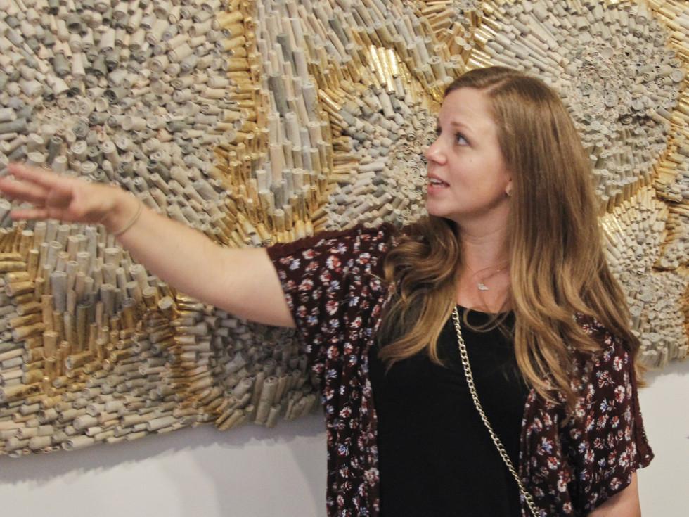 Texas Women for the Arts Meeting 2017 Jen Hassin