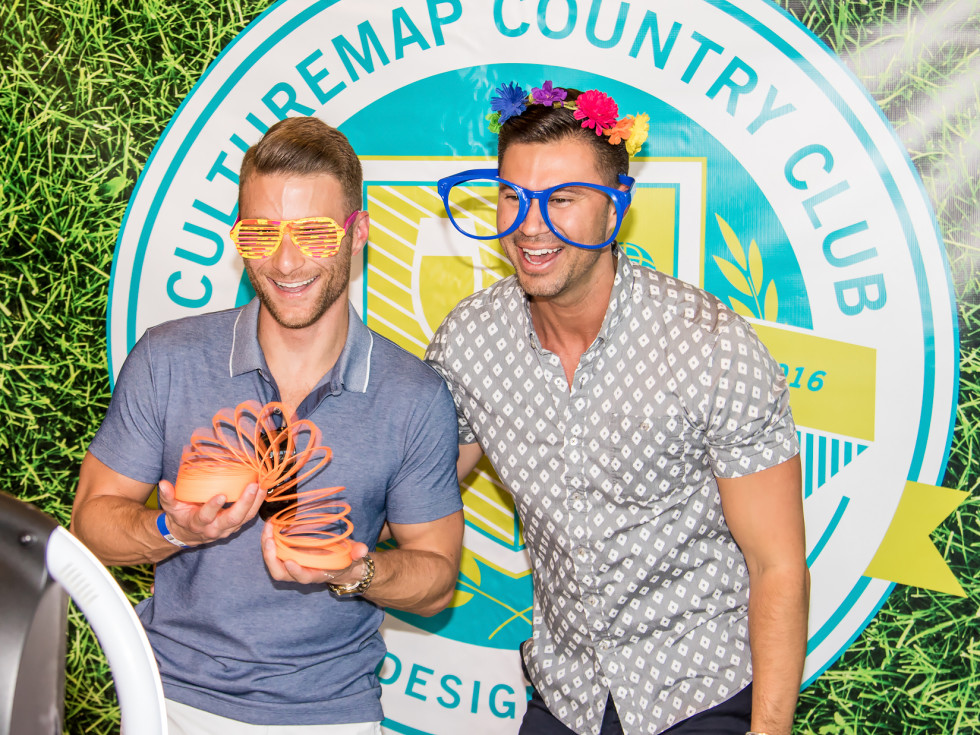 CultureMap Country Club 2016 photo booth