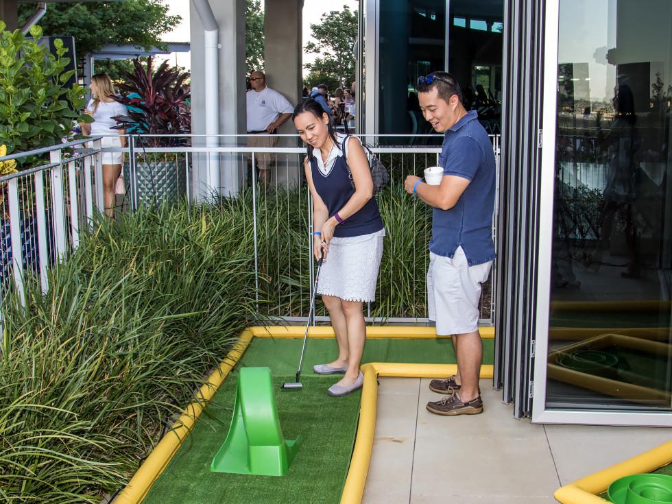CultureMap Country Club 2016 mini golf