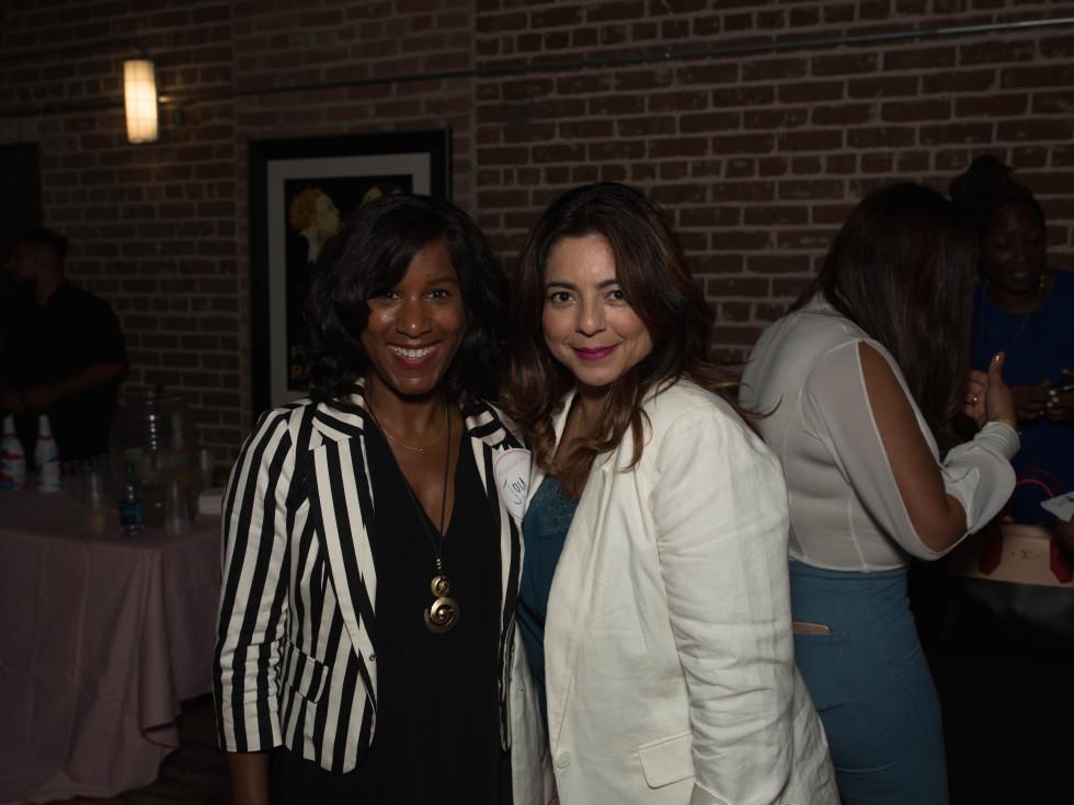 Joy Sewing, Lisa Valdez at Spoiled Latina Day event