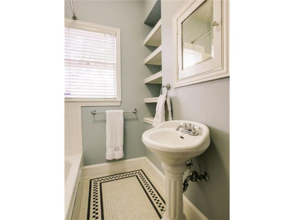 Bathroom at 5839 Marquita Ave. in Dallas