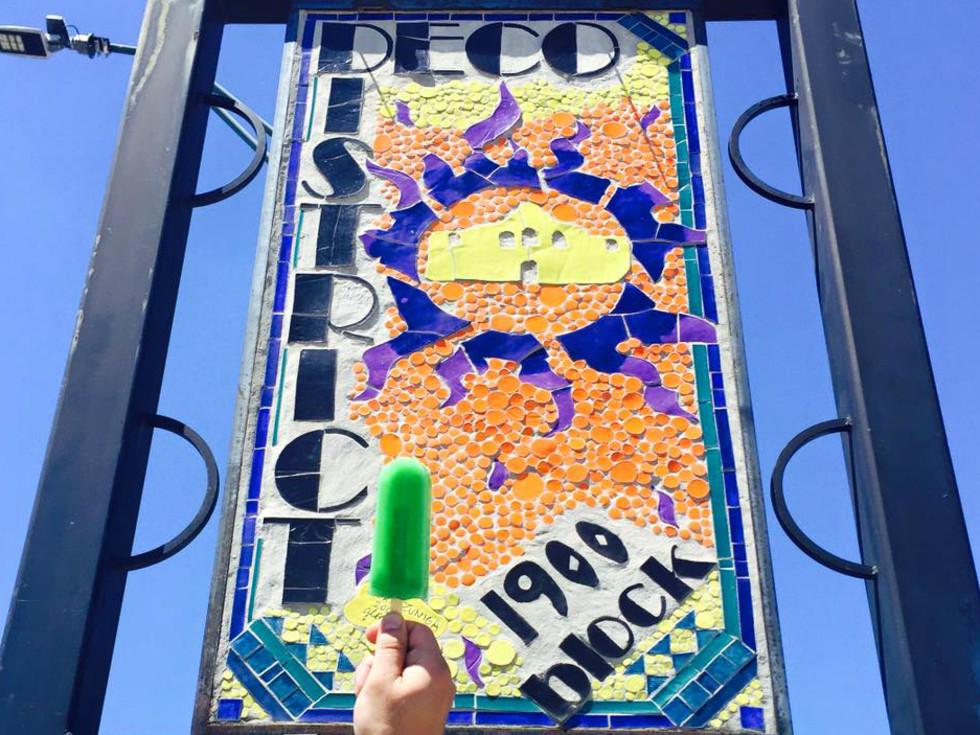 El Paraiso Ice Cream paleta popsicle Deco District