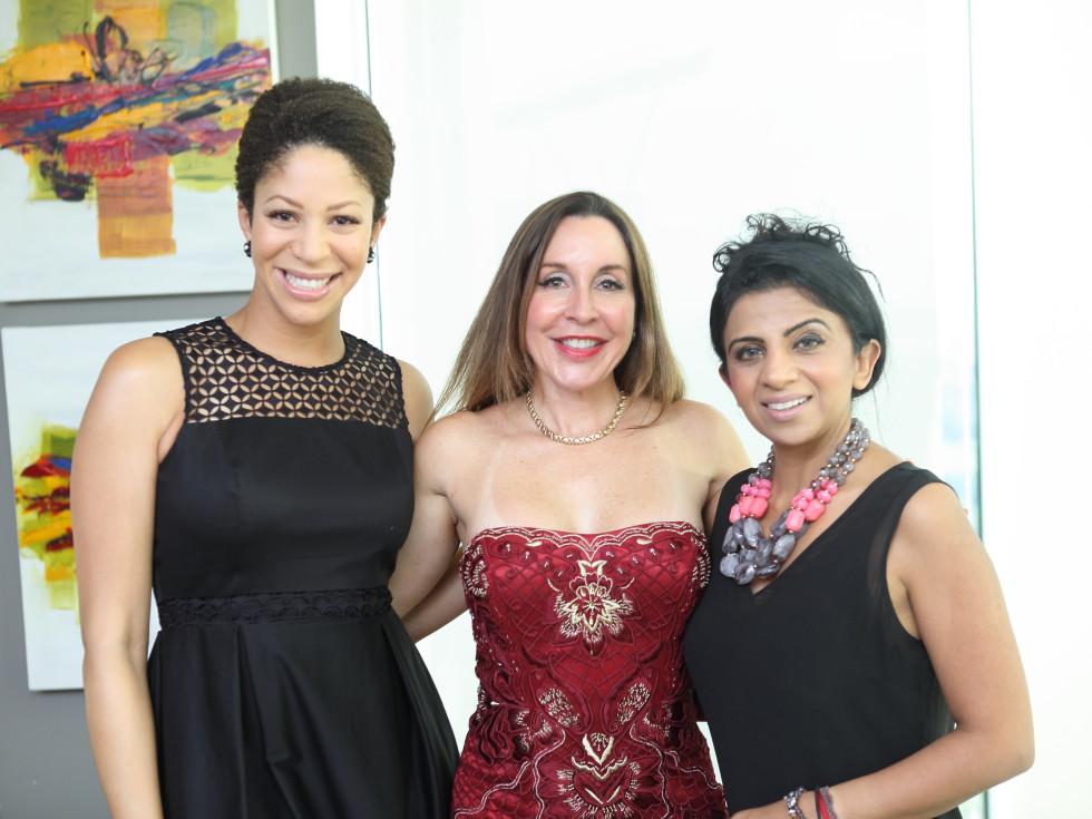 CKW Luxe Star Awards 6/16 Myra Johnson, Katya Dow, Farida Abjani