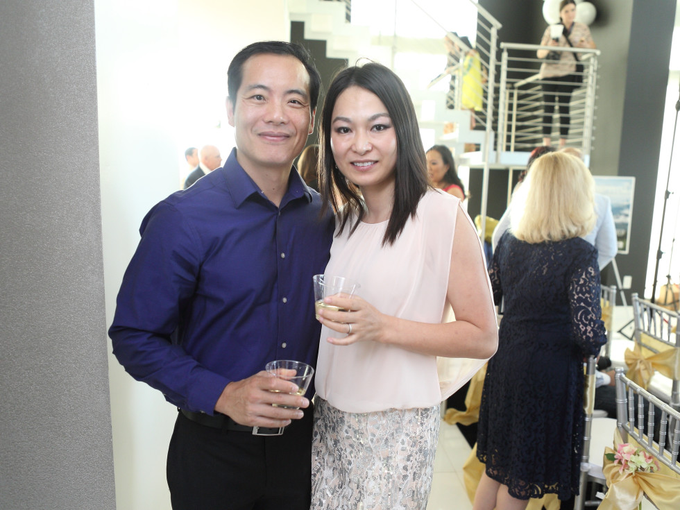 CKW Luxe Star Awards 6/16 Michael Chang, Cynthia XUE