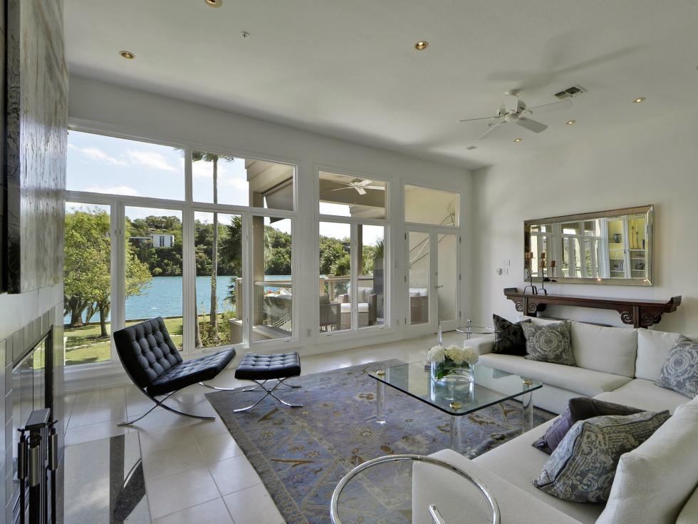 2329 Westlake Austin house for sale living room