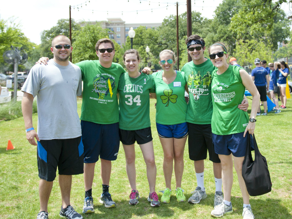 "Team ""The Hartnett Law Firm"" - Mike Hartnett, Andrew Crim, Emily Crim, Tanner Hartnett, Patrick Crim and Elena Doskey"
