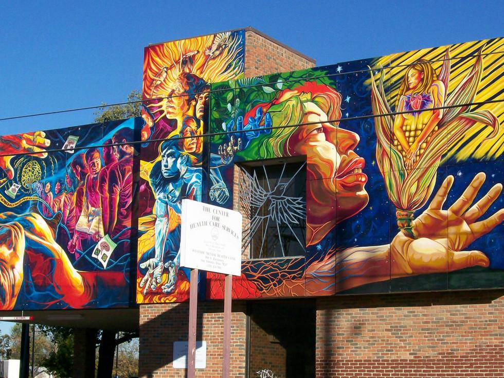 Brighter Days street mural San Antonio