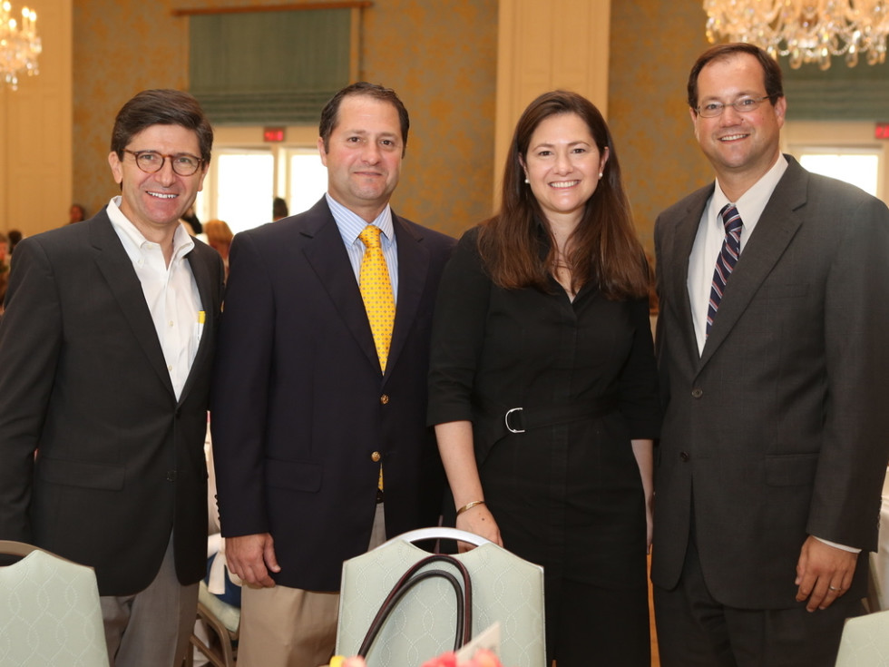 San Francisco Nativity Academy Luncheon, 6/16, JORGE MUÑOZ, MALCOLM COGAN, LIZZIE MOLINO AND JAMES COGAN