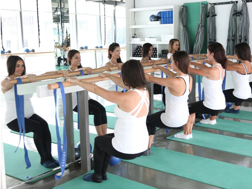 Define exercise studio in Dubai