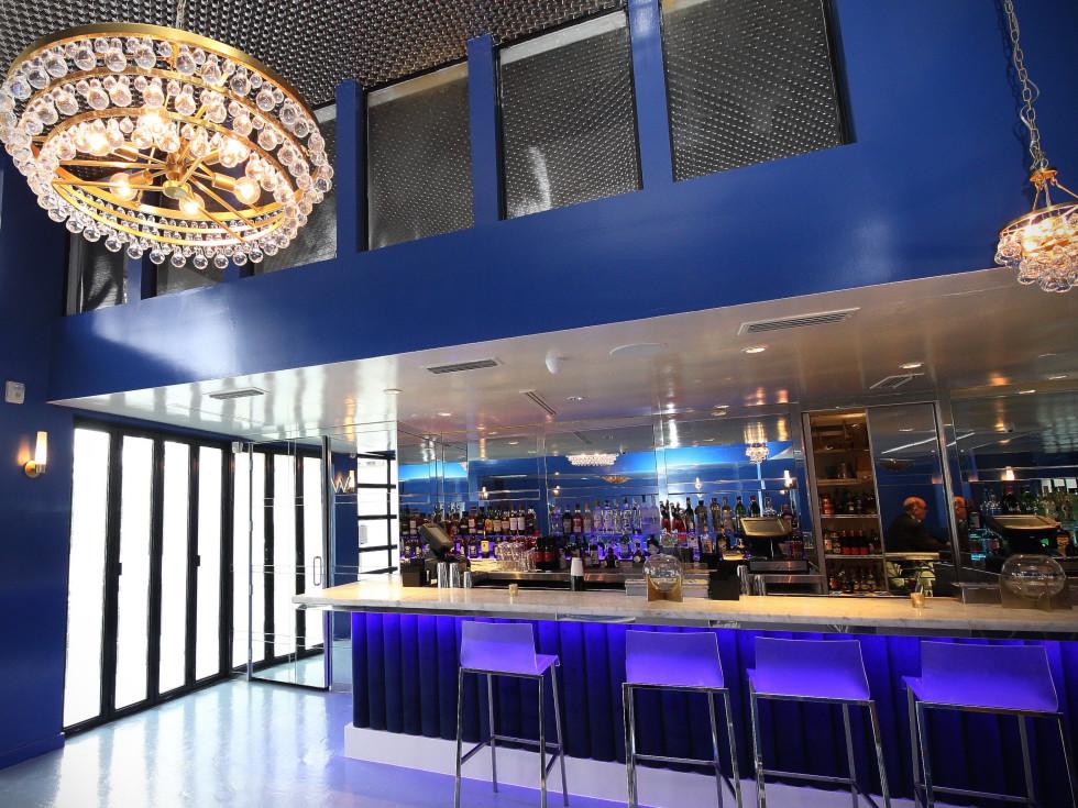 Bar Bleu opening, 6/16,  interior