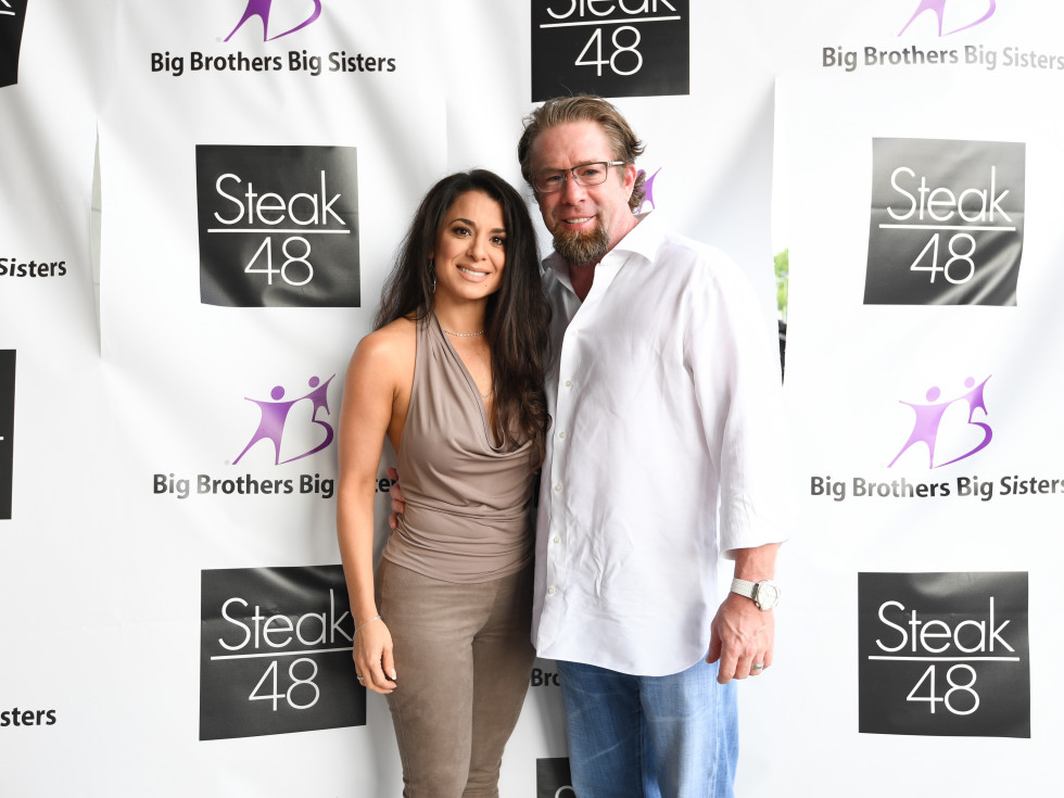 Steak 48 Opening dinners, 6/16, Rachel Bagwell, Jeff Bagwell