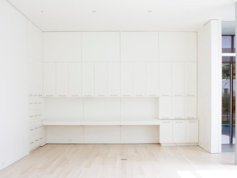 Houzz Dallas house home modern minimalism June 2016 office