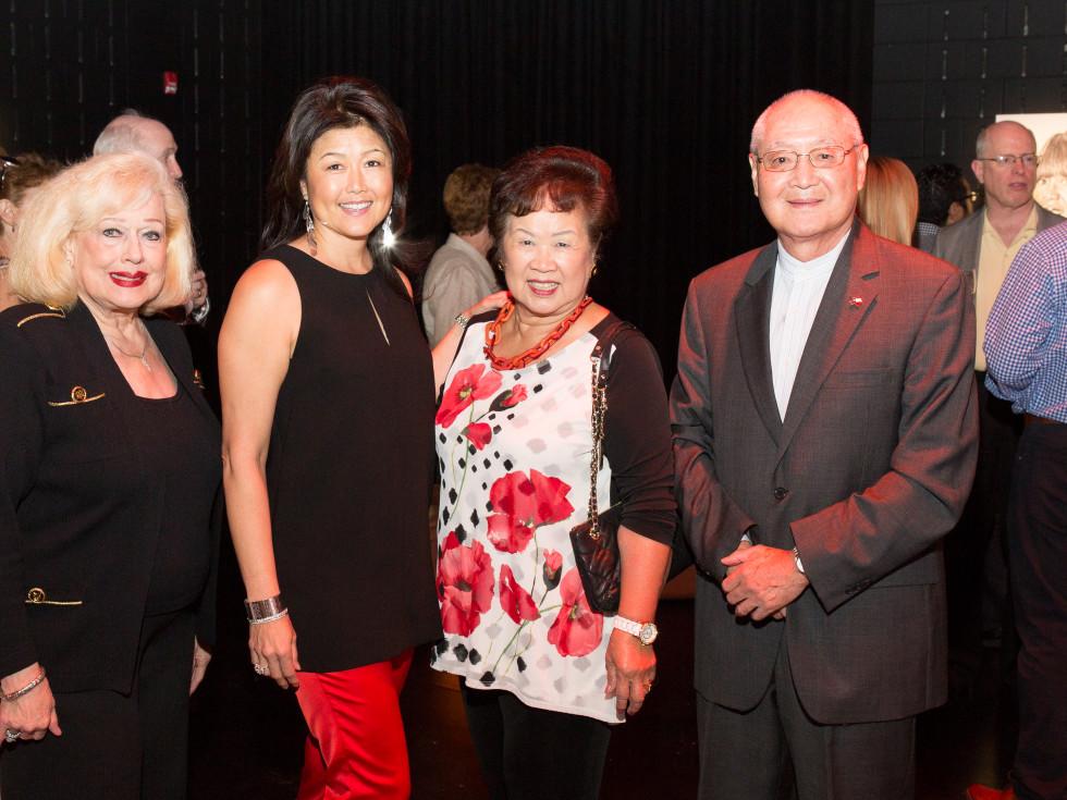 Patti Whitmire Carlton, Marlene Wong, Martha Wong, John Dao at UTHealth Live