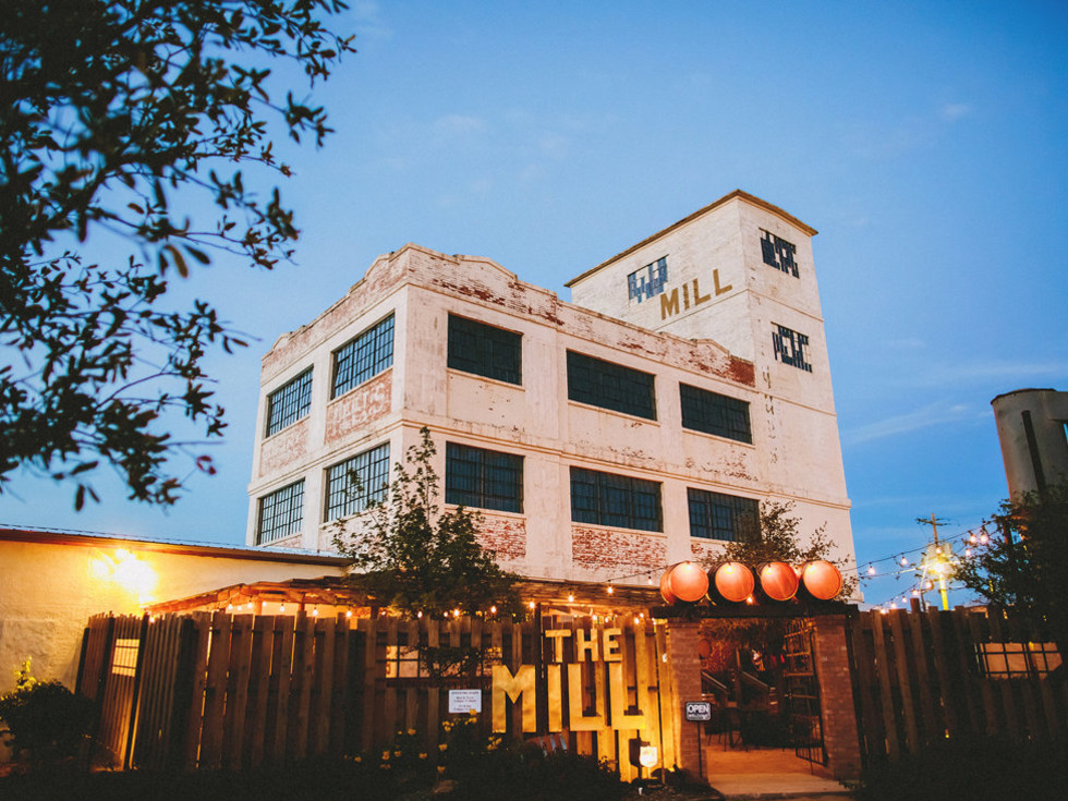 The Mill wine bar in Abilene, Texas