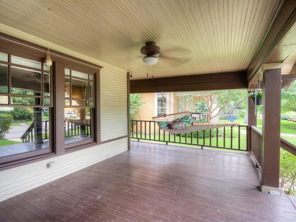 5823 Richmond Ave. Dallas home for sale front porch