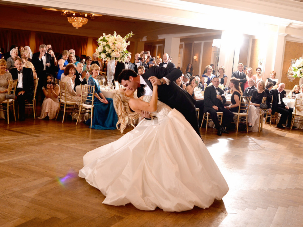 Houston, Chita Johnson wedding, June 2016, on the dance floor