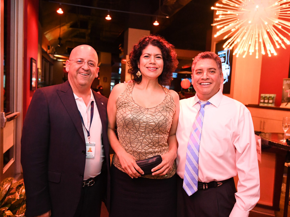 Houston, George Spring Bowling Event, June 2016, Jerry Flores, Carol Alvarado, Gerard Torres