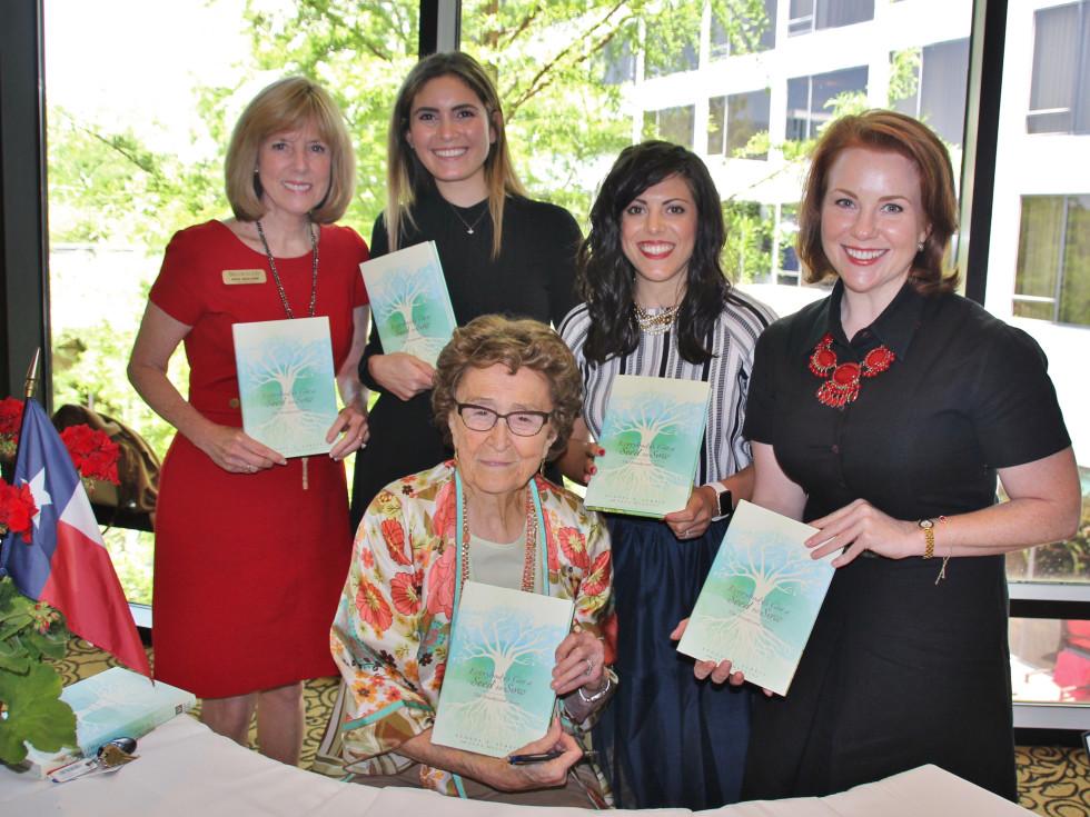 Brookwood founder and author Yvonne Streit with co-author Jana Mullins, Yara Suki, Grace Moceri, Amy Vandaveer