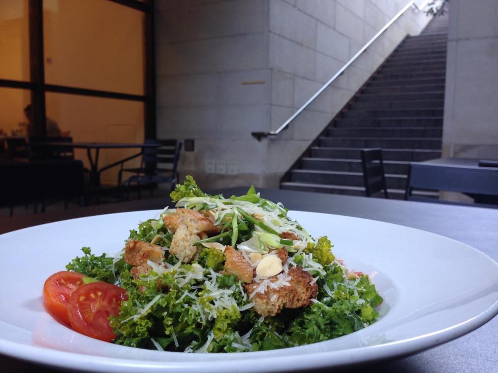 MFA Cafe Kale salad