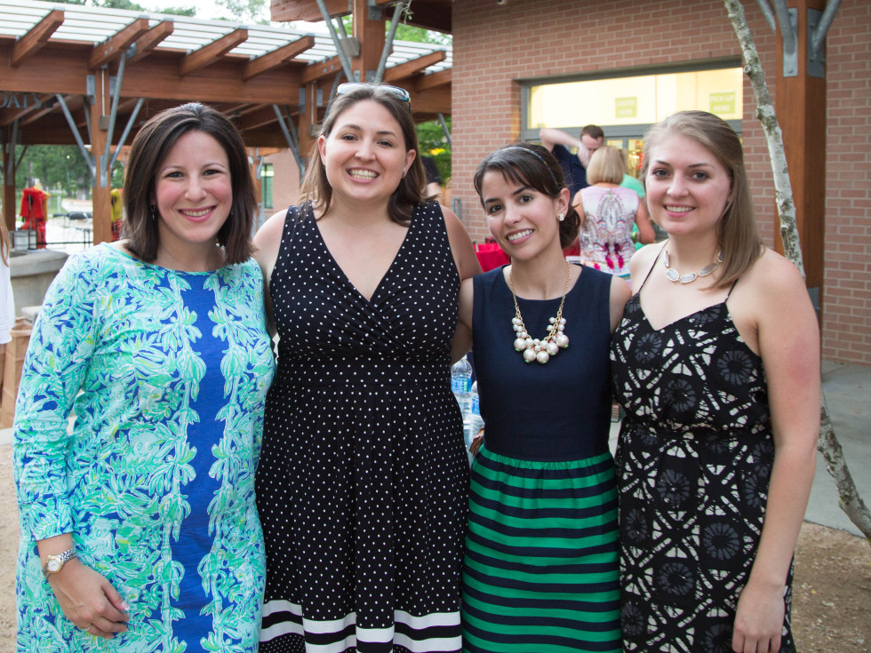 Urban Green Overboard party, Lauren Kupor, Jordan McPhail, Dionella Martinez, Ashley McPhail