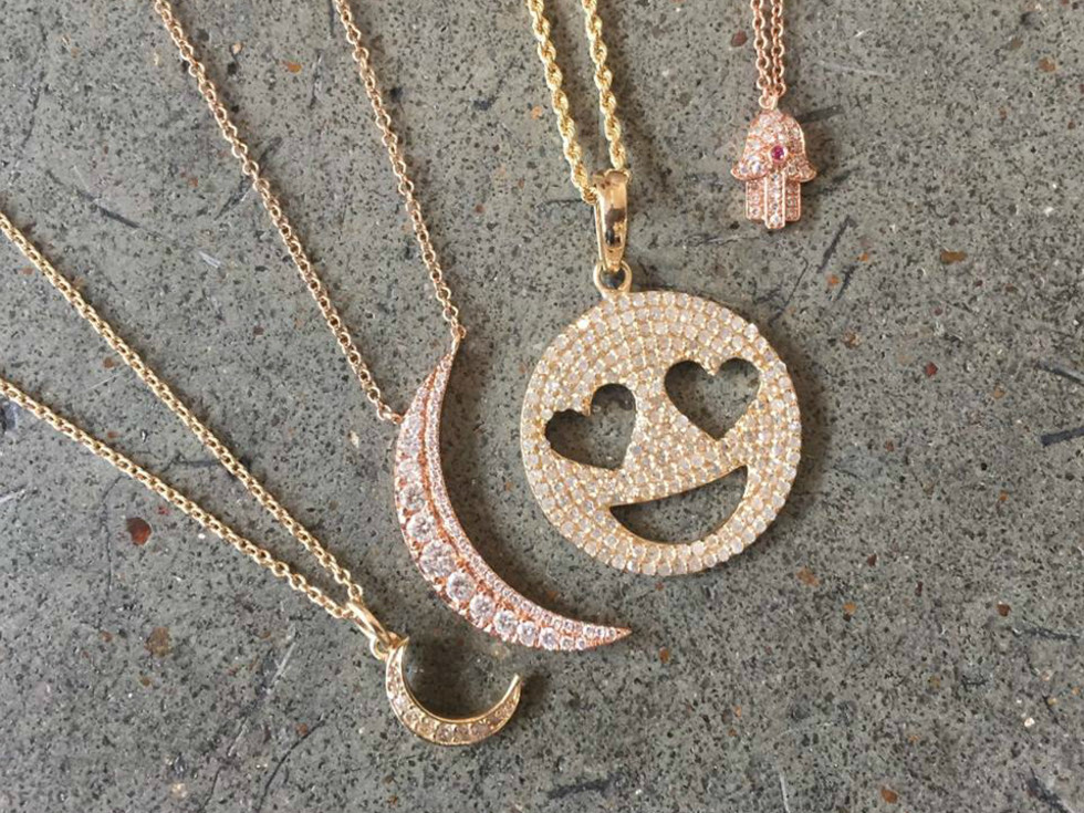 The Jen Collection Sloan/Hall shop jewelry necklaces