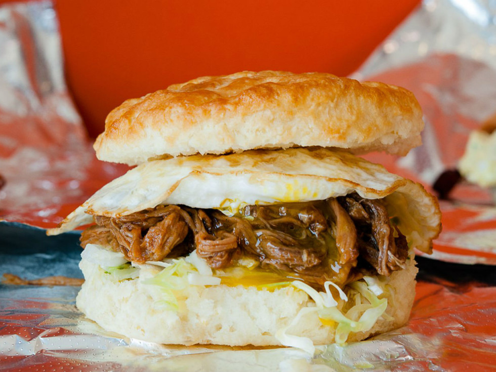 Rise Biscuit sandwich