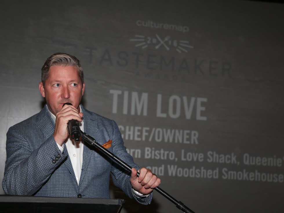 CultureMap Tastemaker Awards 2016 at Bob Bullock Museum Tim Love