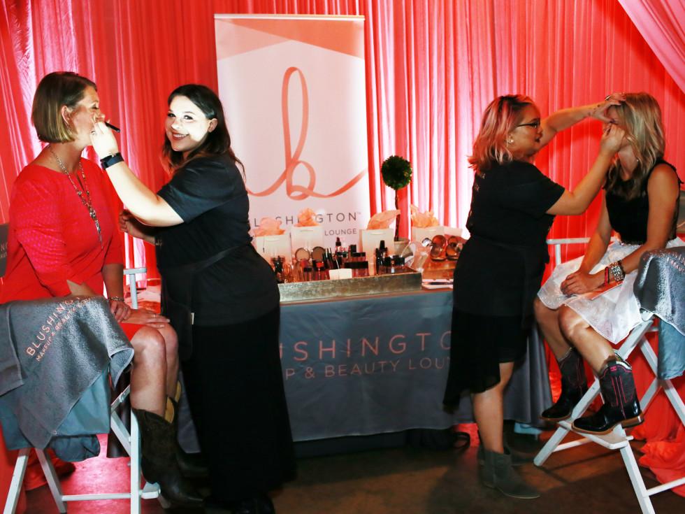 Blushington at Ally's Wish Boots & Blessings Gala 2016