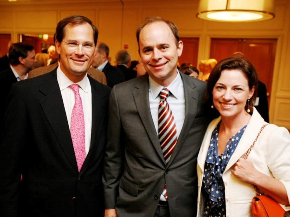 Houston, Menninger Clinic Annual Luncheon, May 2016, Will Robertson, Brett Hogan, Cullen Geiselman