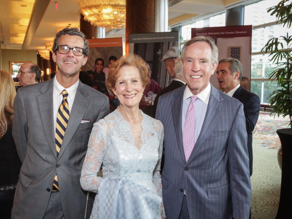 Tapestry gala, May 2016, John Williams, Susan Baker,