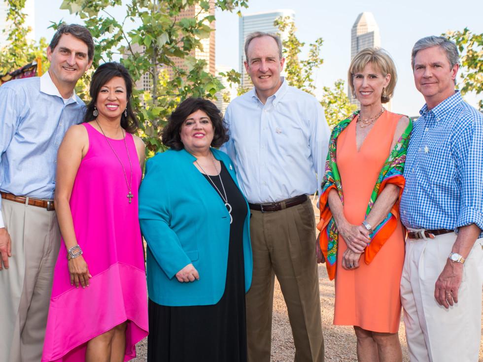 Catholic Charities Gala 5/16 Paul and Carol Beck, Alicia and Dave Freysinger, and Jo and George Brueggeman, Jr.