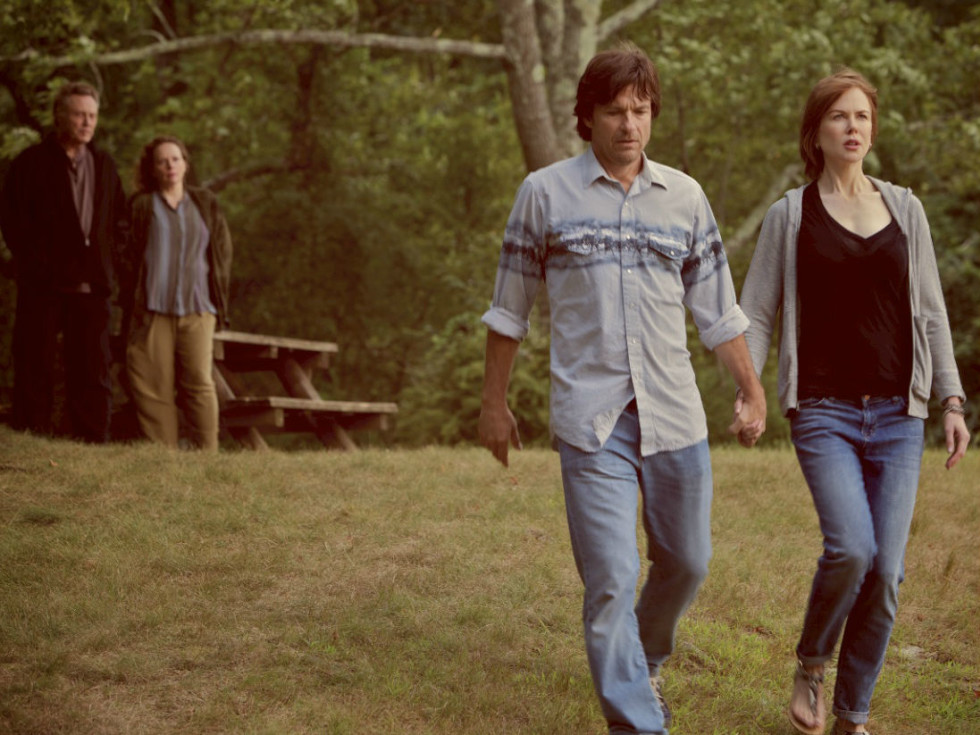 Christopher Walken, Maryann Plunkett, Jason Bateman, and Nicole Kidman in The Family Fang