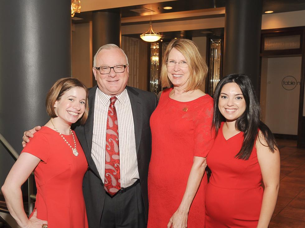 go Red for Women, 5/16, Becky Yanez, John Crum, Vicki Crum, Jessica Ansel