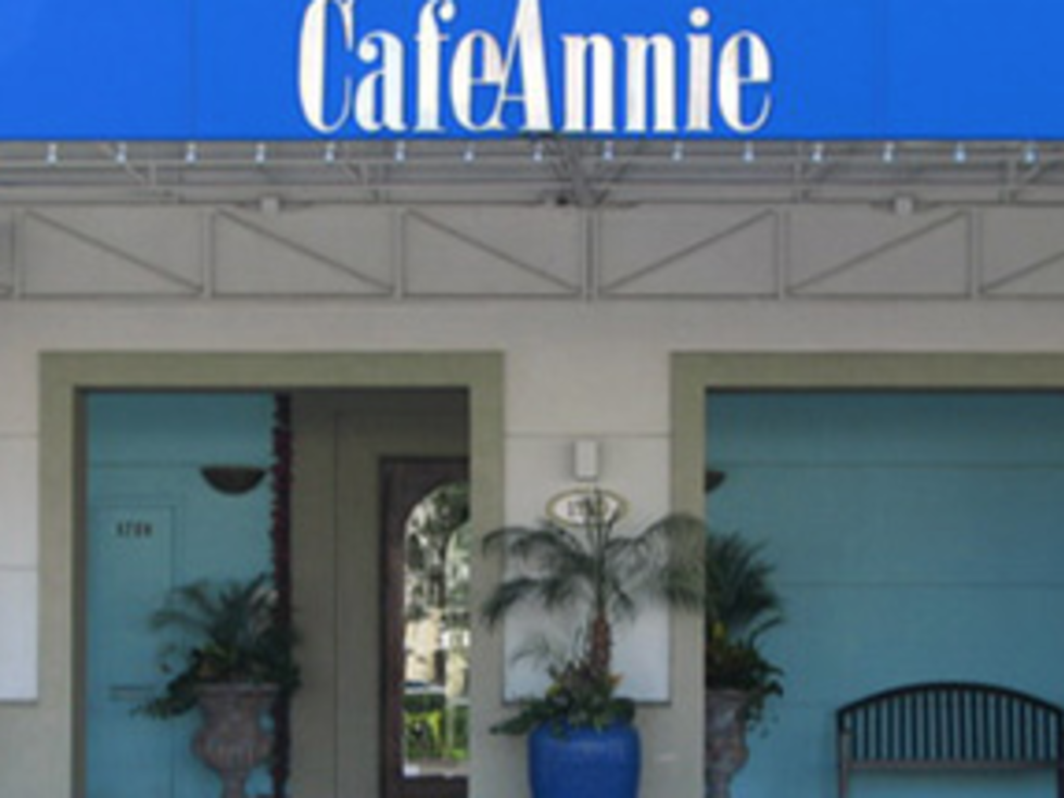 Cafe Annie  May 2016