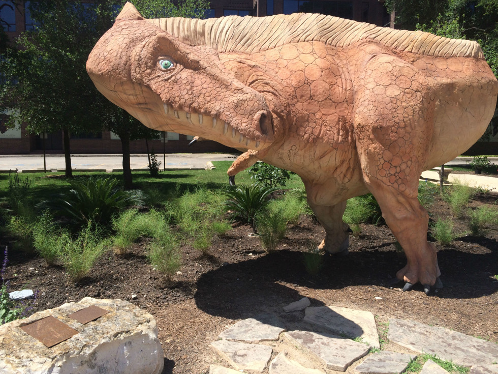 Dinosaur at the Witte Museum