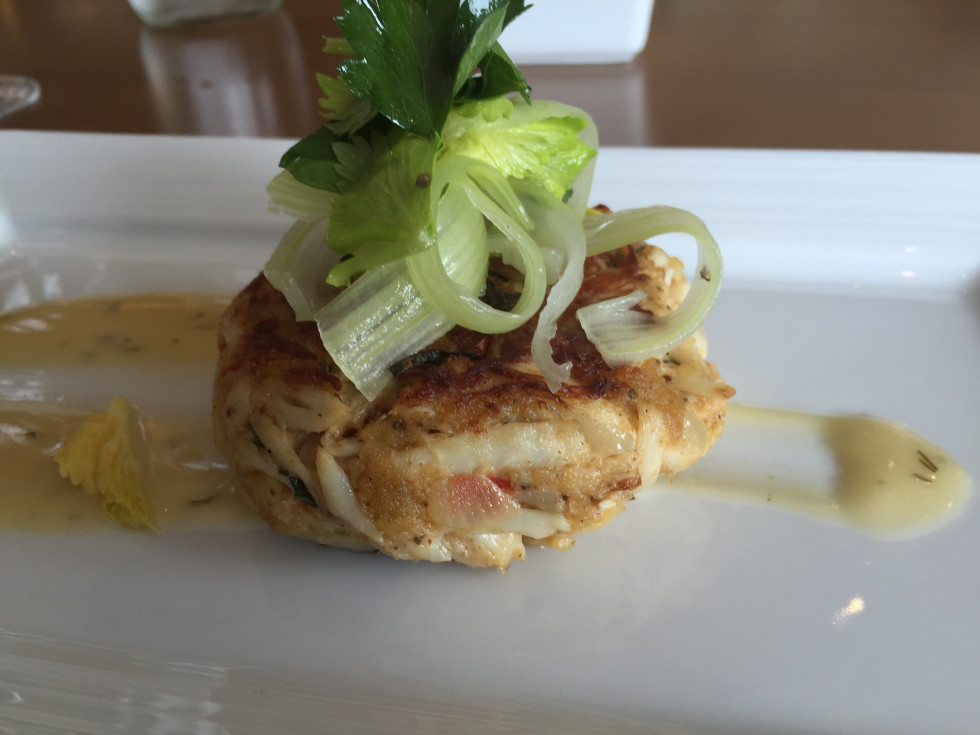 Current The Woodlands Westin crab cake