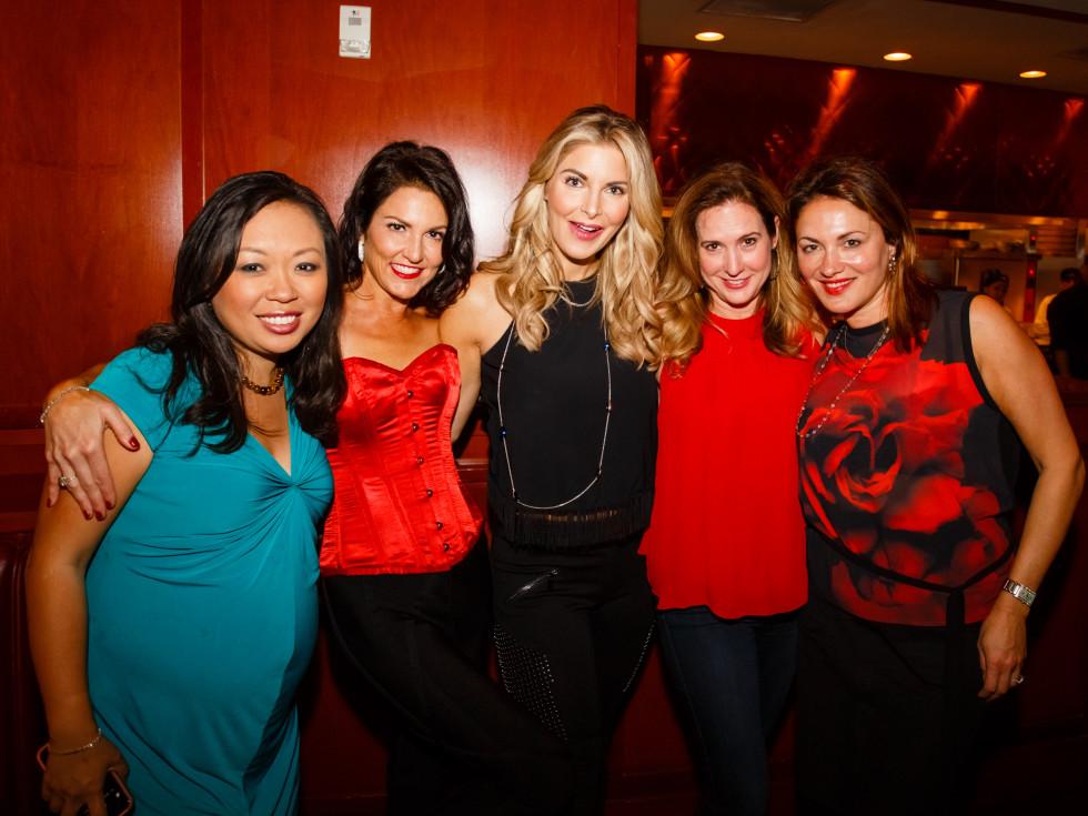 Dine Out for Life 4/16, Fleming's, Miya Shay, Jessica Rossman, Romy Lauren
