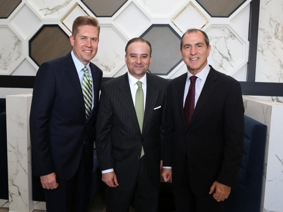 Saks MD Anderson benefit 4/16, John , Zack Fertitta and Grant