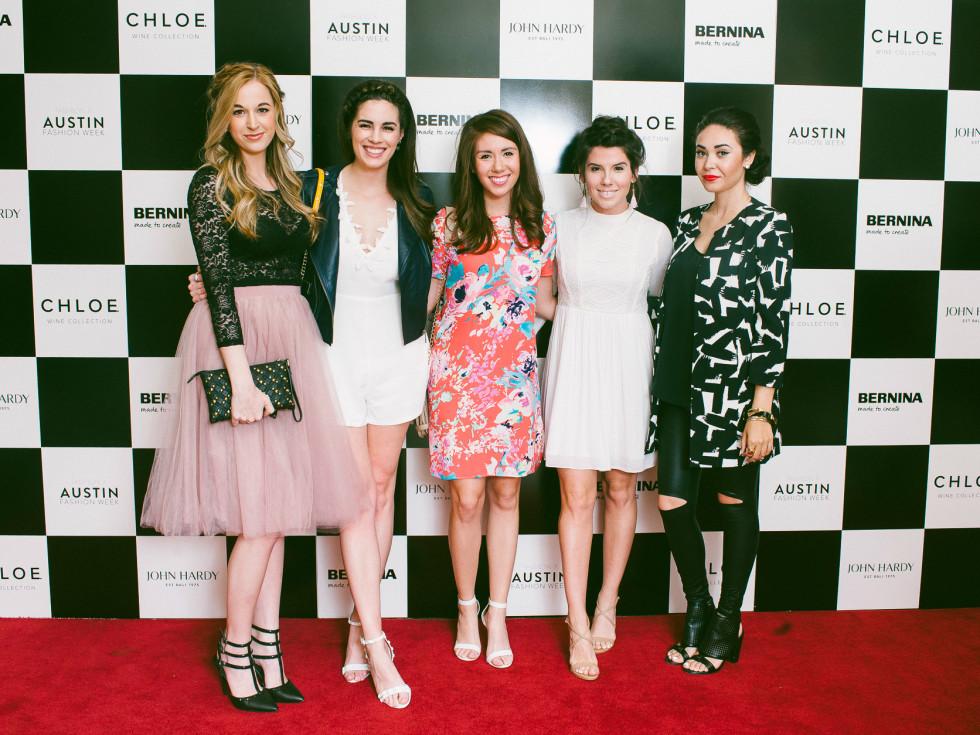 Austin Fashion Week 2016 red carpet Kaily Mae Sieck Hilary Rose Cynthia Velasco Jonie Howard Sylvia Vaquera