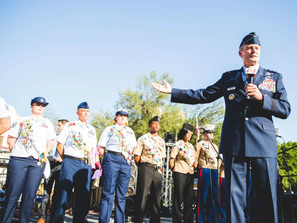 Lt. General Darryl L. Roberson Fiesta San Antonio